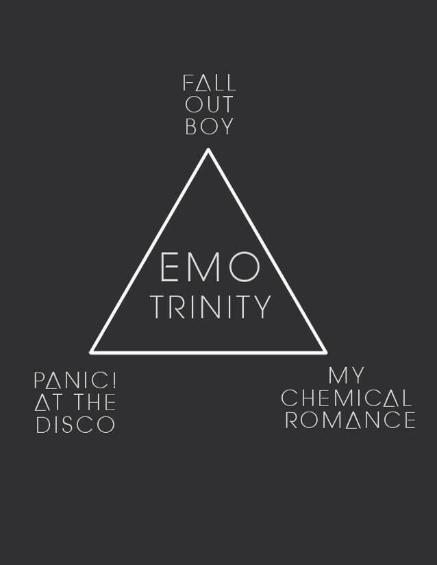 Fall Out Boy, Panic! At The Disco, and My Chemical Romance
