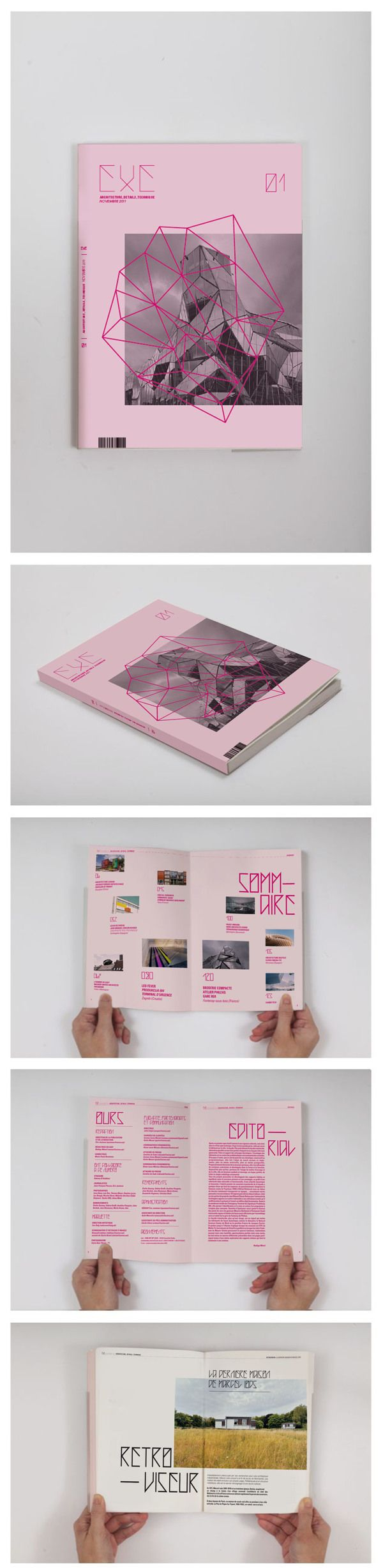 EXE Magazine on Behance