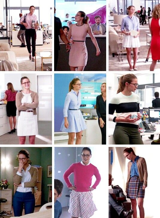 This is what happens when I binge watch Supergirl. Obsessing over Kara Danvers work outfits.