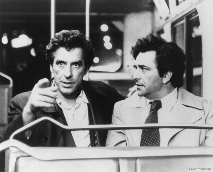 John Cassavetes and Peter Falk.