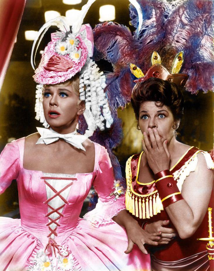 "Doris Day & Martha Raye in ""Billy Rose's Jumbo"" (1962)"