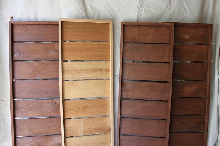 Modern Cedar Shutters (inspiration) http://thecavenderdiary.com/tag/modern-cedar-shutters/