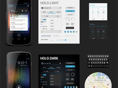 Freebie PSD: Android 4.0 UI