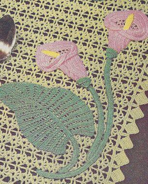 Simple Crochet Doilies Free Pattern   LILY DOILY PATTERN   2000 Free Patterns