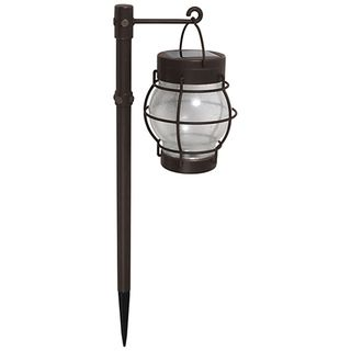 @Overstock.com - Malibu 4-piece Daybreak Solar Pathway Lights - Featuring dusk-to-dawn operation and a ground mounting style, the Celestial LED Solar Pathway Lights are a great way to add lighting to landscape areas such as paths and walkways.  http://www.overstock.com/Home-Garden/Malibu-4-piece-Daybreak-Solar-Pathway-Lights/7629406/product.html?CID=214117 $76.99