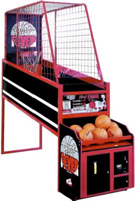 MIN HEIGHT FOR BBALL GAME MENTIONED     Hoop Fever Basketball Arcade Game |  Innovative Concepts In Entertainment / ICE