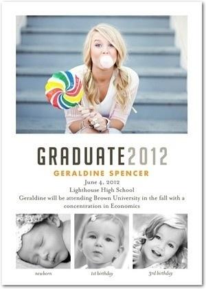 Graduation announcements graduation-party