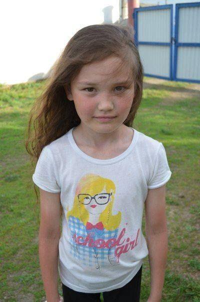 A little Bashkir/Bashkurd girl.