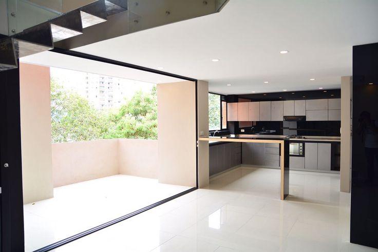 Luxury industrial kitchen