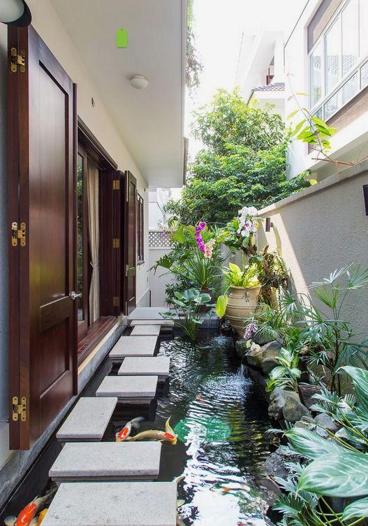 Residence House in An Phu-An Khanh ,District 2,HCMC,VIETNAM - asian - Landscape - Other Metro - VietPhu Design Construction Corporation