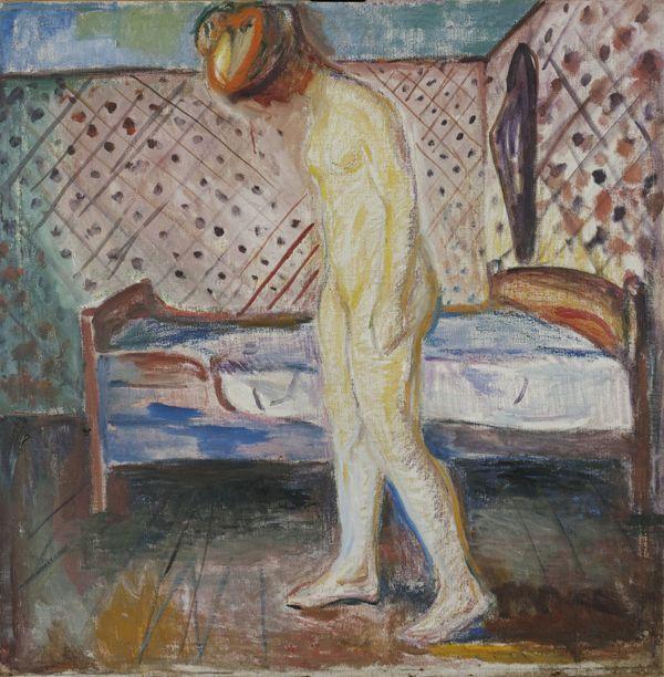 Edvard munch, Das weinende Mädchen, 1909