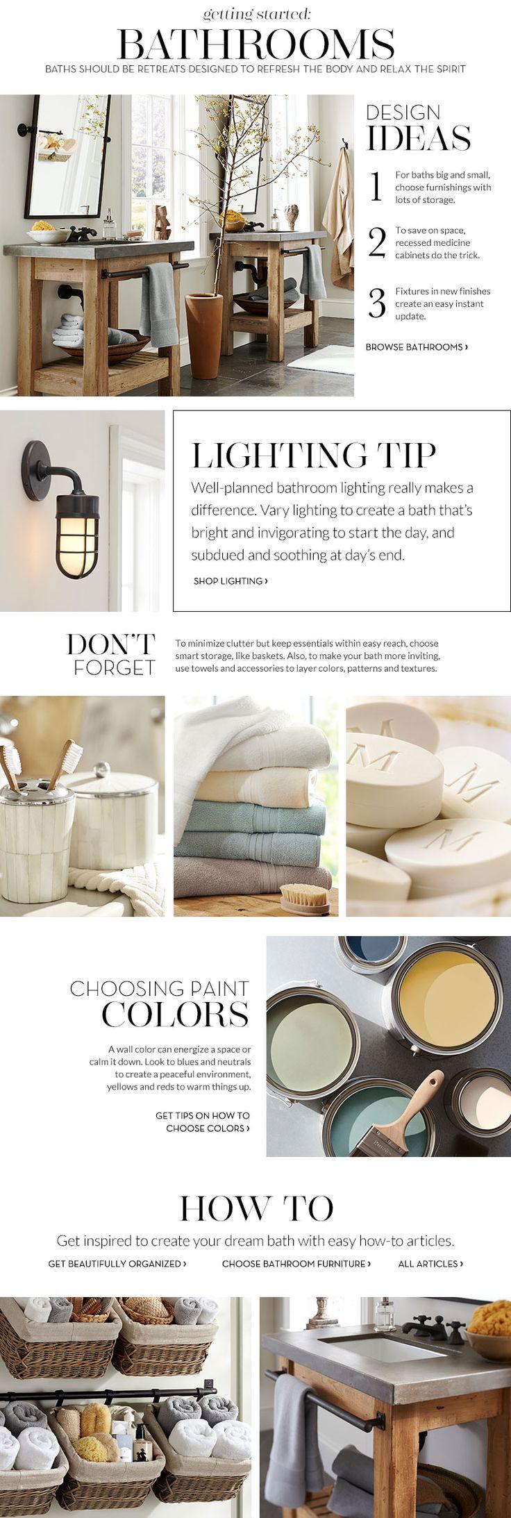 Bathroom Decor & Decorating Ideas | Pottery Barn