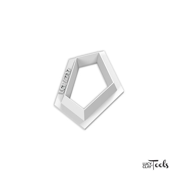 LC Cutter 1524 (Polygon 17) | Order at LC Store EU http://www.lucyclaystore.com/en/lc-cutters/271-lc-cutter.html LC Store USA http://www.lucyclaystore.com/usa/lc-cutters/271-lc-cutter.html | Inspiration http://issuu.com/lctools/docs/cutters-pentagons