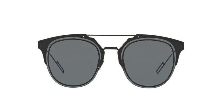 Dior HOMME COMPOSIT 1.0 62 Grey & Black Sunglasses | Sunglass Hut USA