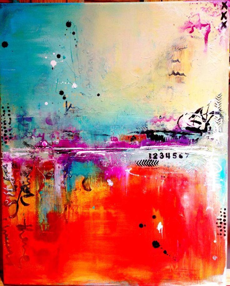 Paint Like an Artist Class - Limor Webber - Thursday 27th August 9.30 - 1.30pm