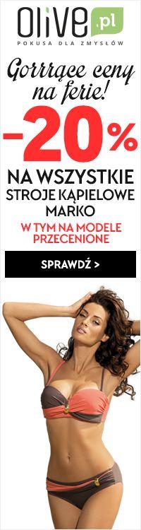✂ ✂ Stroje kąpielowe Marko ✂ ✂ Tylko teraz mega obniżka cen!  * Promocja dotyczy również strojów przecenionych! Sklep Olive.pl #kostium #kąpielowy #strój #moda #underweare #plaża #lato #sun #summer #holiday #kobieta #zakupy #online #sklep #olive #bardotka #Marko