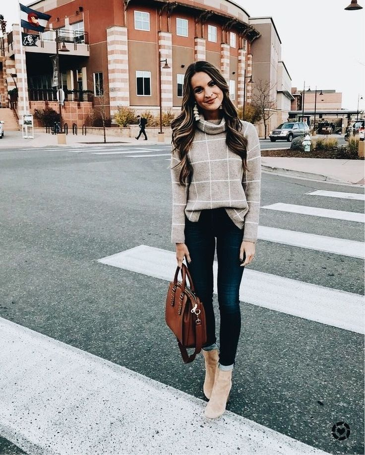 Cute casual outfit.