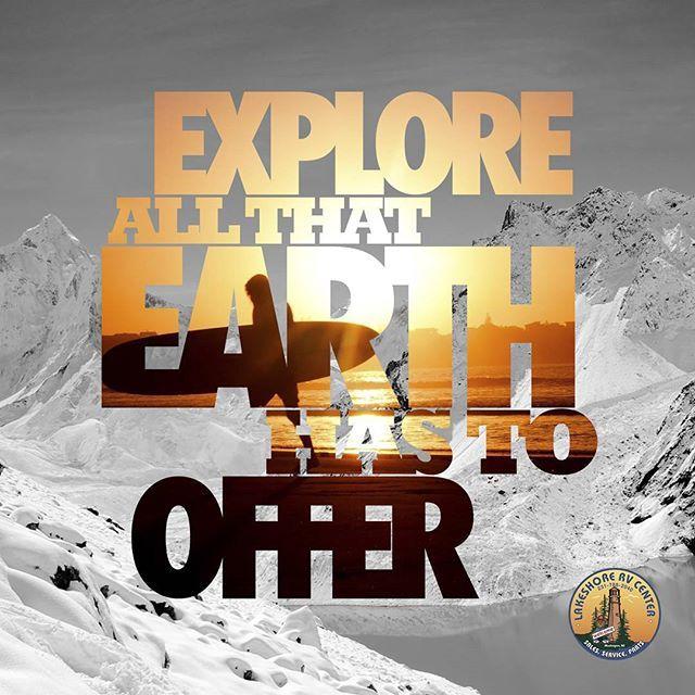 Be an explorer! Lakeshore-RV.com