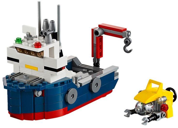 LEGO Creator - Nava de explorare oceanica (31045), jucarii LEGO ieftine de Craciun