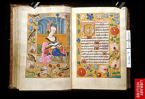Mary Magdalene, Book of Hours (c1500) British Library