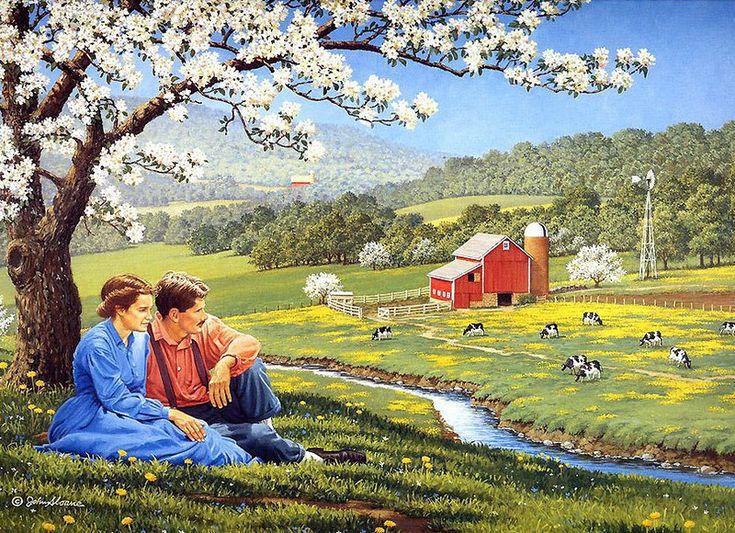 Джон Слоэн: Я хочу построить дом возле леса, возле речки... Мир в котором хай-тек - это Форд модели Т. Мир, который в самых США сохранился только в