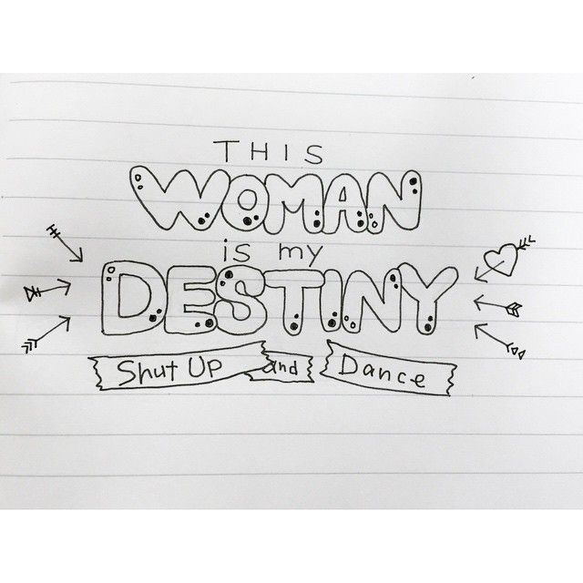 #shutupanddance #walkthemoon #lyrics #lettering #レタリング
