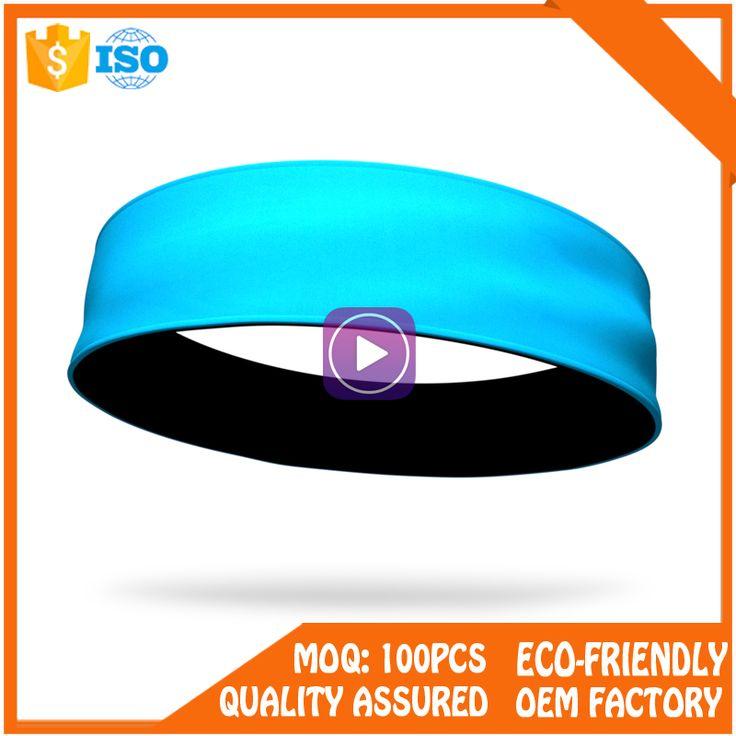 OEM sports headbands for girls, custom cotton sport yoga headband China Factory