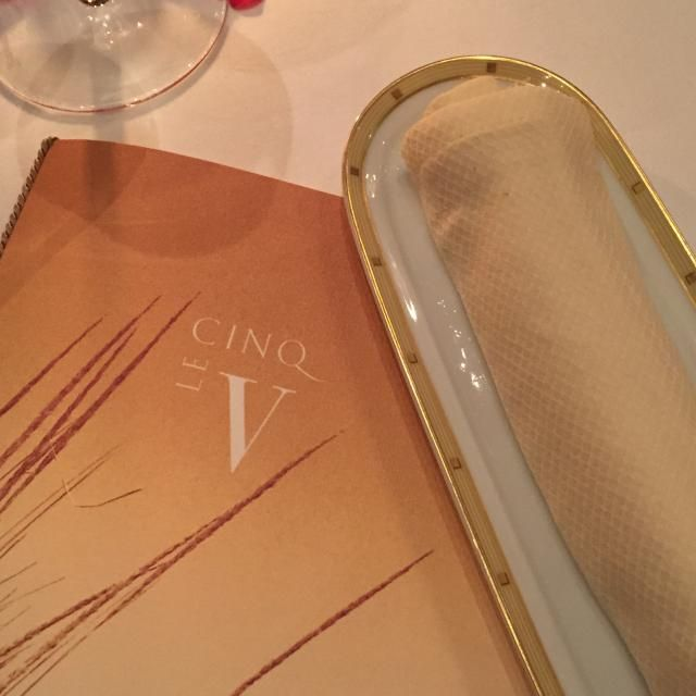 Michelin Star Dining Event: Le Cinq Paris: Parting Gift