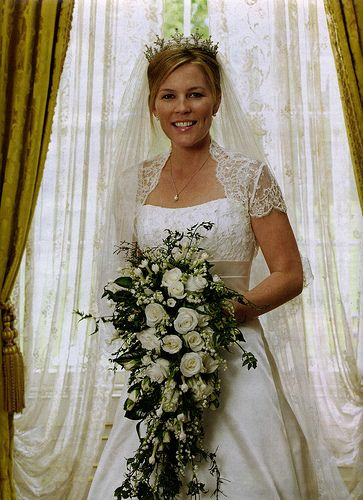 Autumn Phillips on her wedding day 17 May 2008