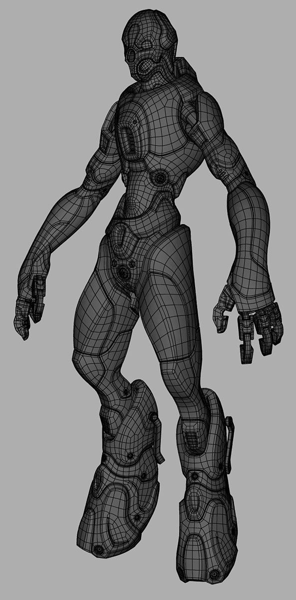 [WIP] ugly battle drone - Page 3 - Polycount Forum