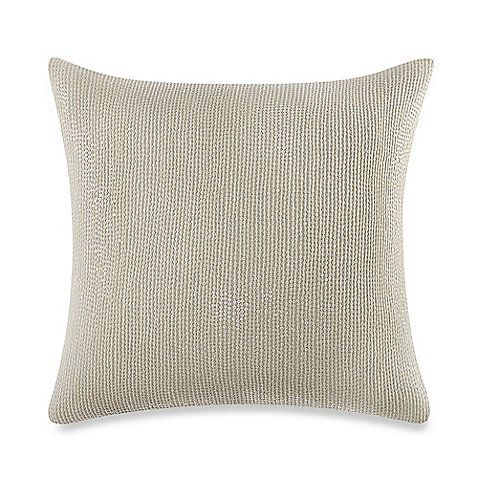 The Key Biscayne Sequin Square Throw Pillow Features All