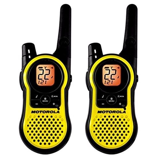 Walkie Talkie Two-Way Motorola Radio one Pair 22-Channel FRS/GMRS 23-Mile Range #MotorolaConsumerRadios