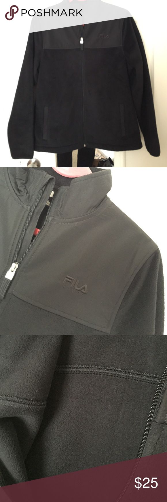 Fila jacket Super warm. Used a couple times but still in excellent conditions. No damages. No trade or holds Fila Jackets & Coats