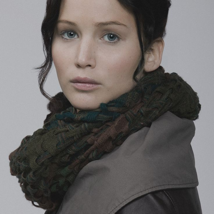 Katniss on Capitol Couture