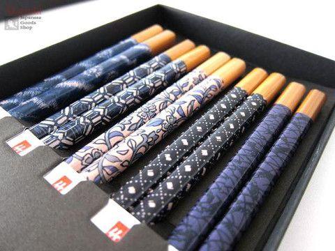 Coffret Baguettes design japonais