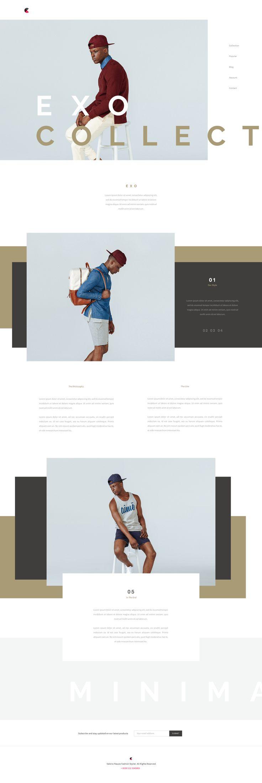 Fashion Website by Matteo Pasuto