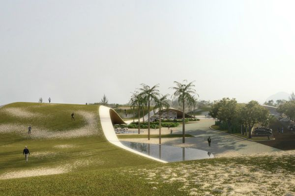Olympic Golf Course - Courtesy of Jacobsen Arquitetura