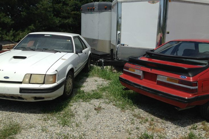 Cheap Turbo Pair: Mustang SVO Projects - http://barnfinds.com/cheap-turbo-pair-mustang-svo-projects/
