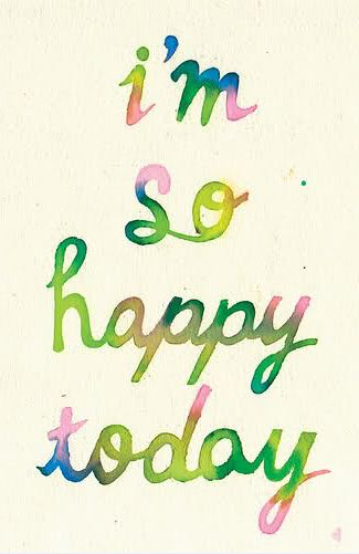 i'm so happy today: Life, Inspiration, Happy Day, Happy Quotes, So Happy, Happy Happy Happy, Daily Motivation, Happy Today, Living
