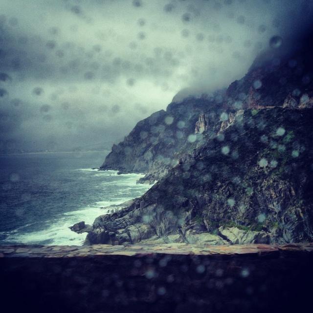 Loving the rain in #CapeTown now