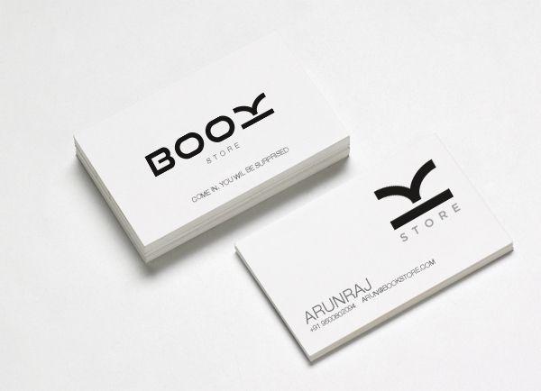 Book Store - Brand Identity by ARUN RAJ, via Behance