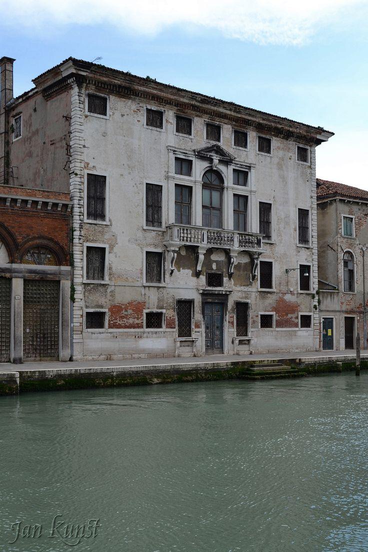 Dilapidated Palazzo Trevisan