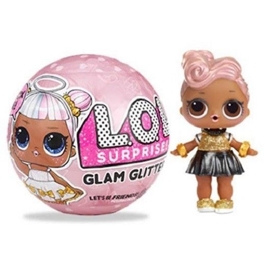 Lol Surprise Toys Kids Glam Glitter Series Doll New 7 Surprises