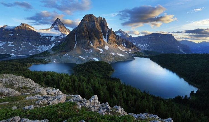 красота Канады, озера Канады, лучшие фотографии Канады. British Columbia, lake Canada. Nashvancouver