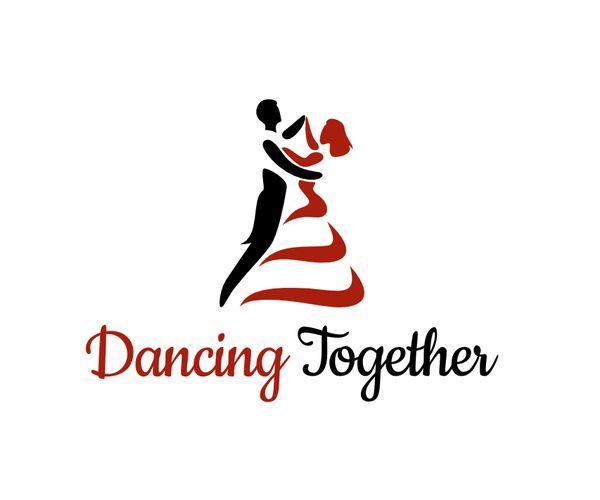 Dancing-couple-logo-design | Dance logo, Logo design diy ...
