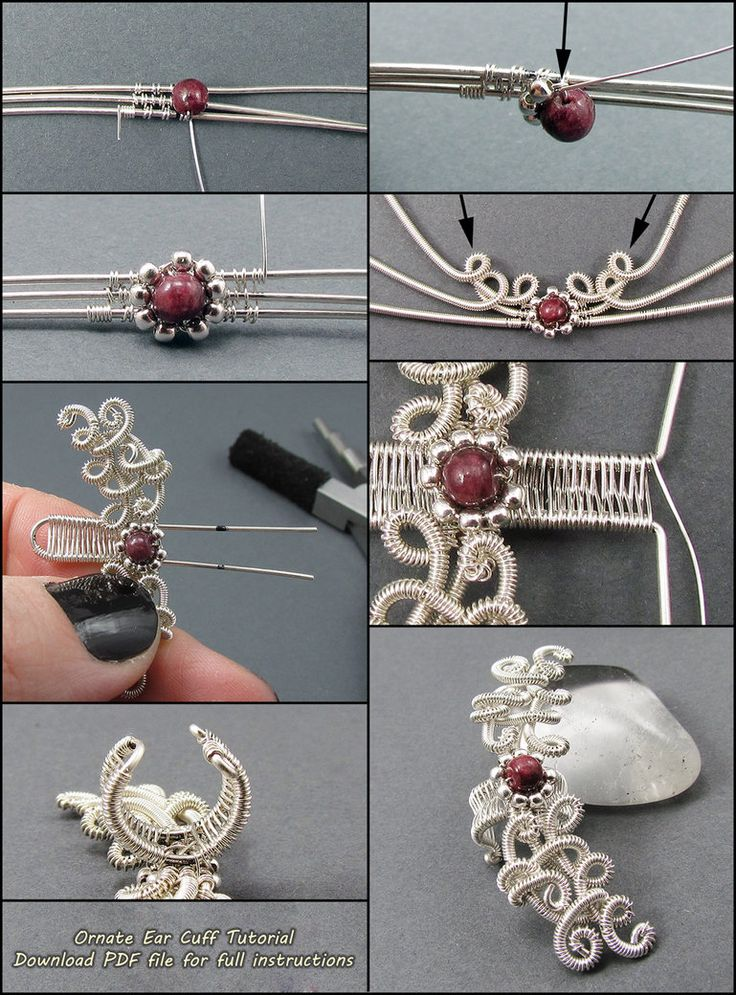 FREE Ornate Ear Cuff Tutorial by sylva