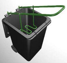 Wheelie Bin Rubbish Compactor
