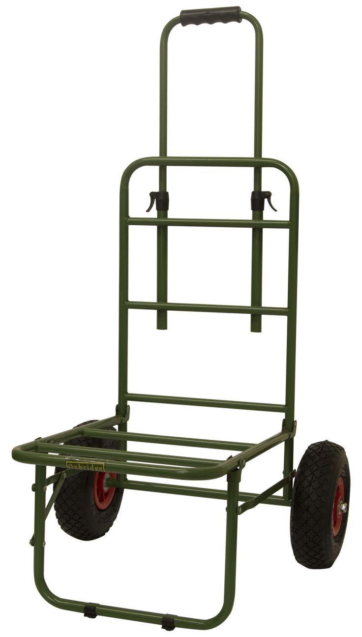 The Oxbridge® heavy duty fishing trolley is designed to be taken over different terrains whilst transporting your fishing equipment. The trolley folds up compactly for storage when not in use. The trolley is built to withstand the rough rides across the fields etc. | eBay!