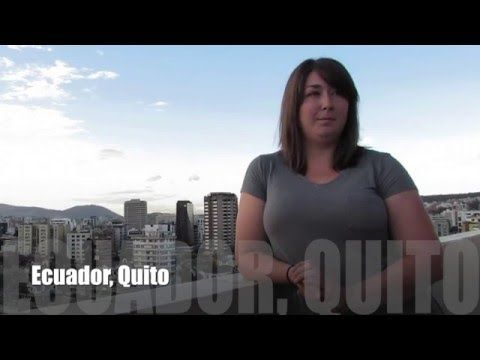 Video Review Volunteer Danielle Schneider Ecuador Quito Orphanage program https://www.abroaderview.org