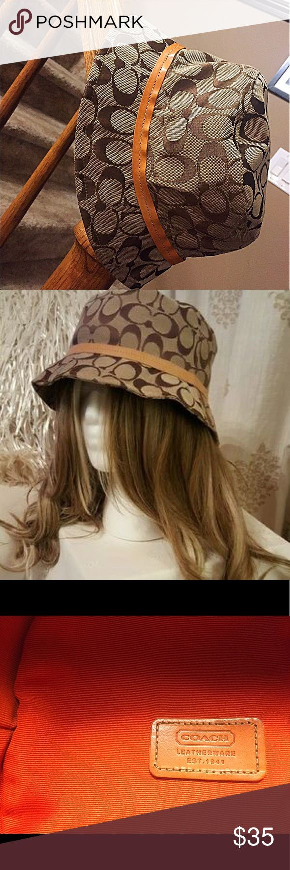 Authentic Coach hat Vintage Coach hat in perfect condition. Coach Accessories Hats